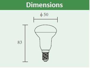 LED Reflector Bulb R50