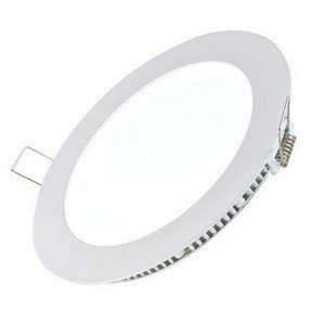 Panel Light Round Recessed