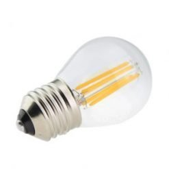 G45 LED Filament Clear Glass E27