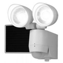 130° Motion Sensor Twin Head Solar Powered LED Floodlight