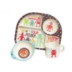 BimBamboo Kiddies Dinner Set