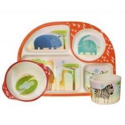 BimBamboo Kiddies Dinner Set