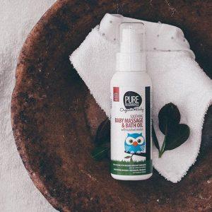Pure Beginnings Baby Massage Bath Oil