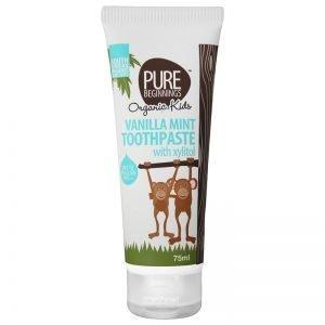 Pure Beginnings Children Vanilla Mint Toothpaste