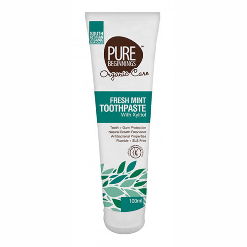 Pure Beginnings Mint Toothpaste