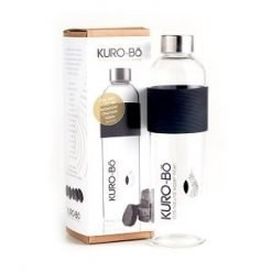 Kurobo Reusable Glass Water Bottle