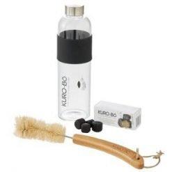 Kurubo Glass Bottle Bottle Brush Charcoal Range