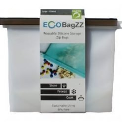Eco Bagzz Reusable Silicone Bag Large Clear