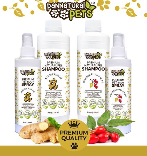 remium Natural Pet Shampoo Wonder Plush & Soft