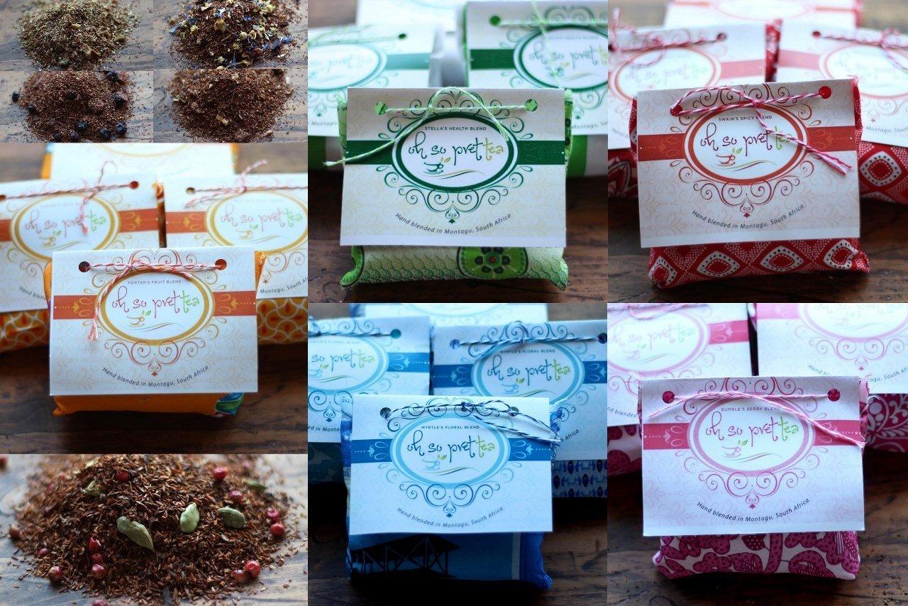 Organic Rooibos Tea - Porter's Fruit Blend