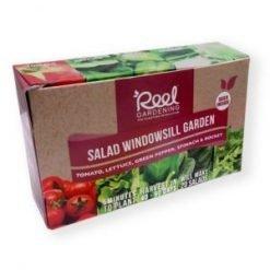Reel Gardening Salad Windowsill Garden
