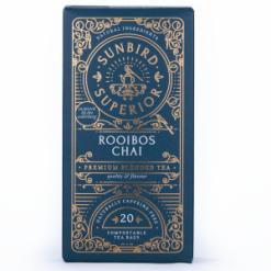 Sunbird Chai Rooibos 20 teabags